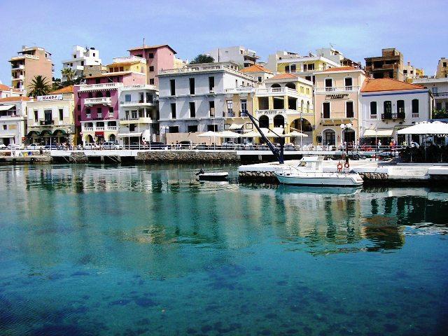 Город Агиос-Николаос, восточный Крит