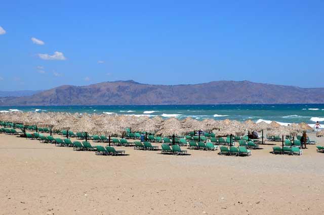 Пляж недалеко от Ретимно