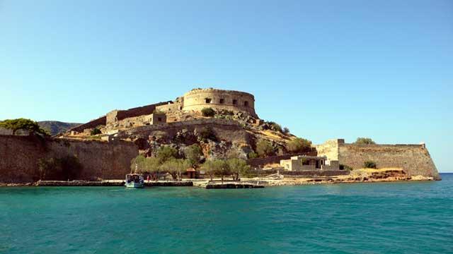 Венецианская крепость на острове Спиналонга